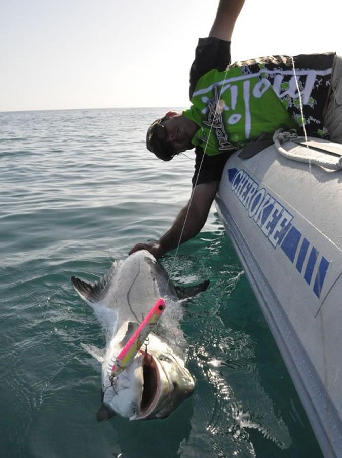 Pesca palometón